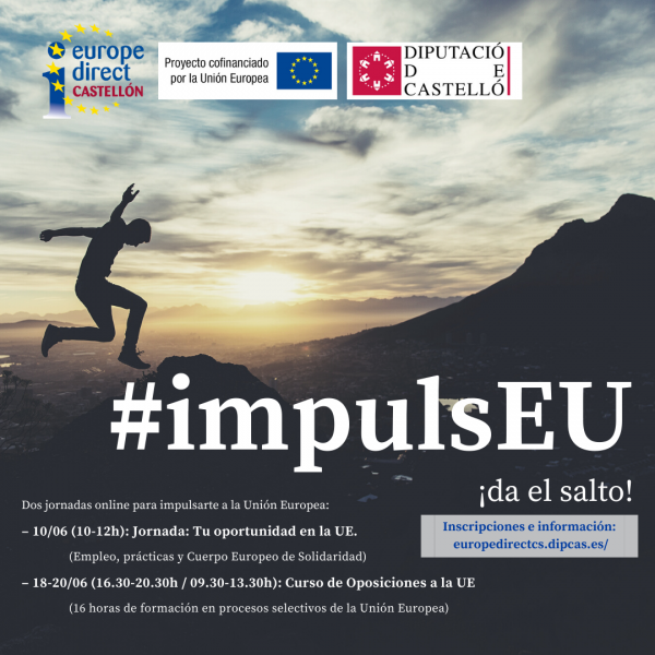 Campaña #impulsEU: ¡Impulsa tu futuro hacia la Unión Europea!