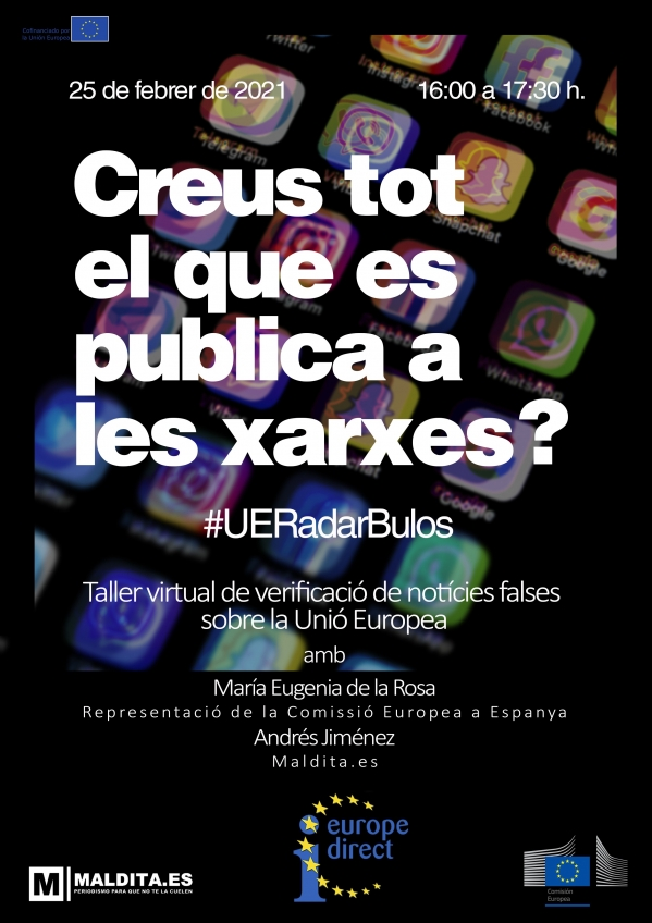 Sessió virutal #UERadarBulos