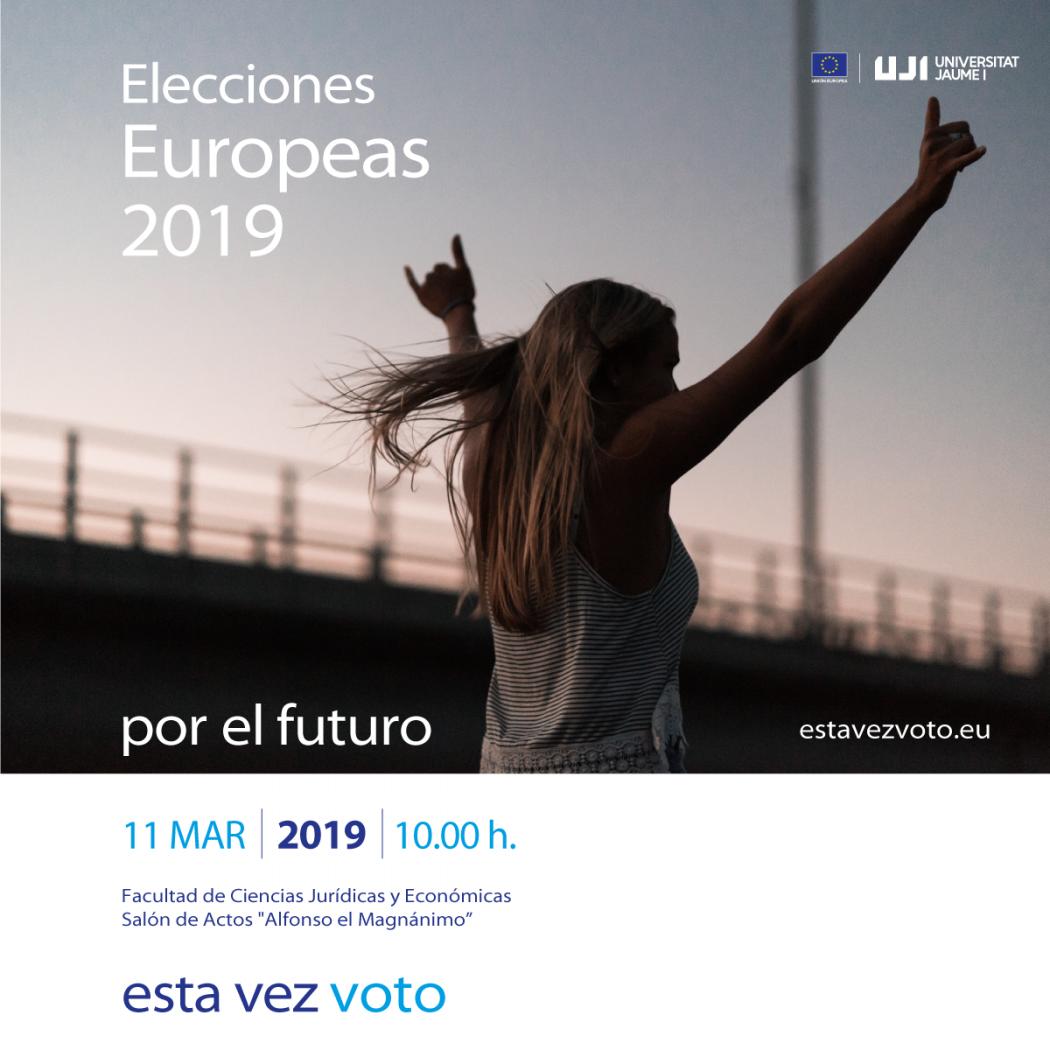 Las Instituciones Europeas en España presentan en Castellón la campaña #EstaVezVoto