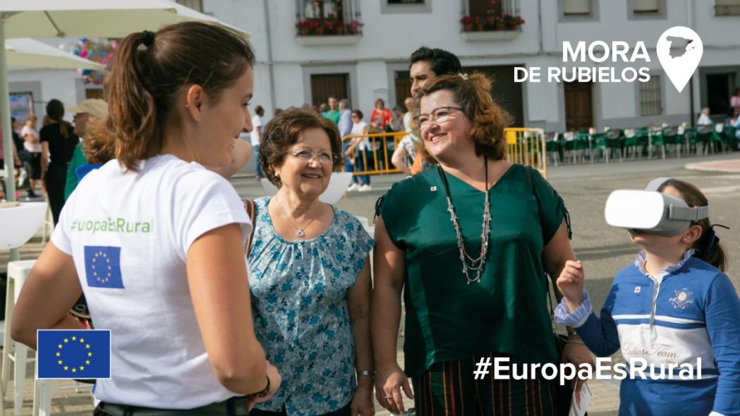 #EuropaRural llega a Mora de Rubielos