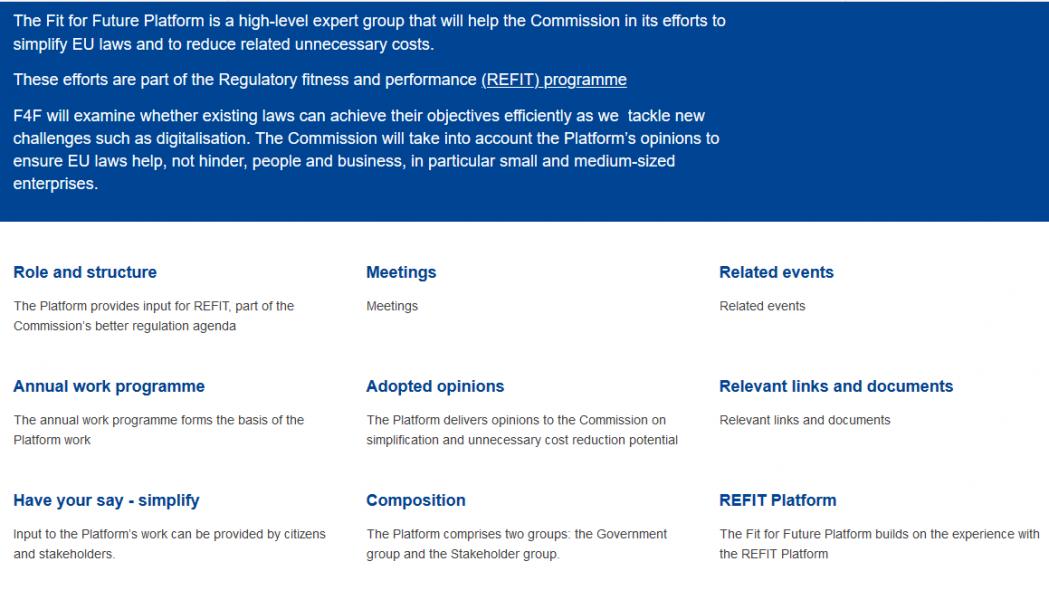 La Comisión pone en marcha la Plataforma «Preparados para el Futuro» e invita a los expertos a unirse a ella