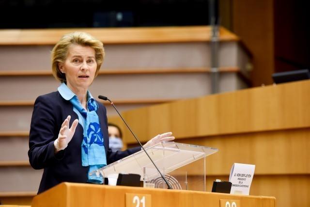 Discurso de la presidenta Von der Leyen en la sesión plenaria del Parlamento Europeo sobre el nuevo MFP, los recursos propios y el Plan de Recuperación