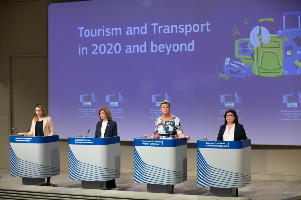 Turismo y transporte: orientaciones de la Comisión sobre cómo reanudar con seguridad los viajes y relanzar el turismo en Europa en 2020 y años posteriores