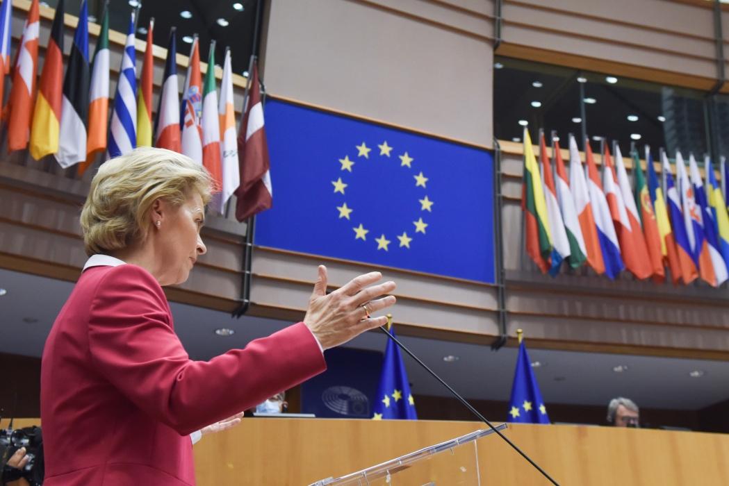 Discurso de la presidenta Von der Leyen en la sesión plenaria del Parlamento Europeo sobre el paquete de recuperación de la UE
