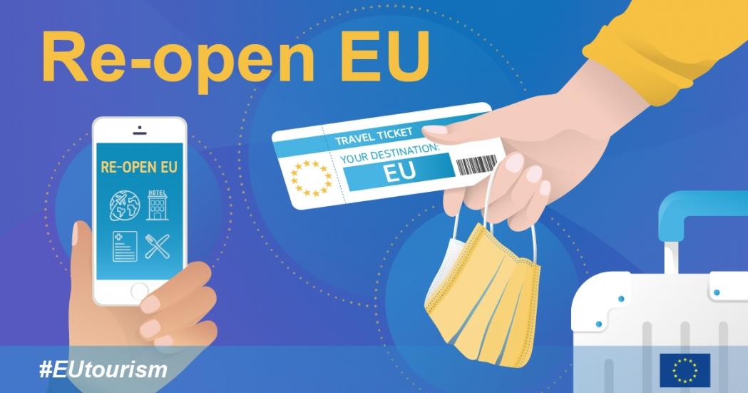 «Re-open EU»: La Comisión pone en marcha un sitio web para reanudar de manera segura los viajes y el turismo en la Unión Europea