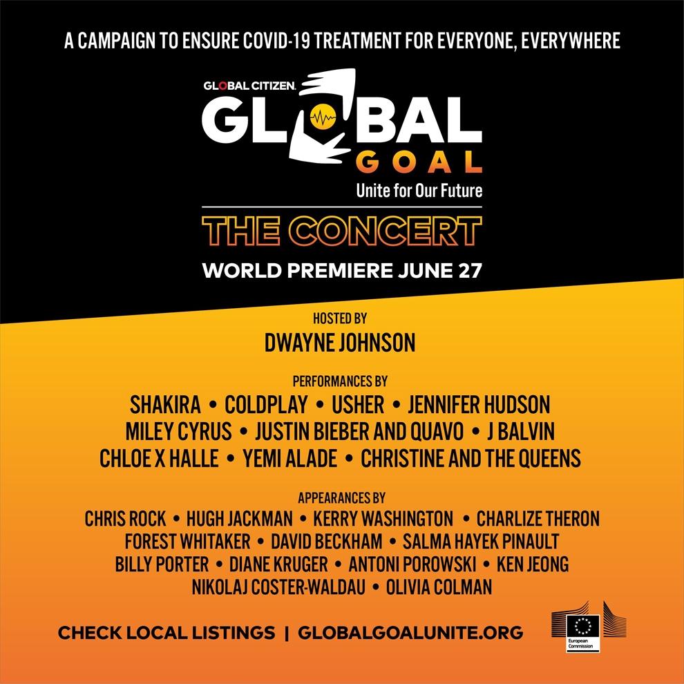 Respuesta mundial al coronavirus: cumbre de dirigentes mundiales y concierto anunciados para el27 de junio