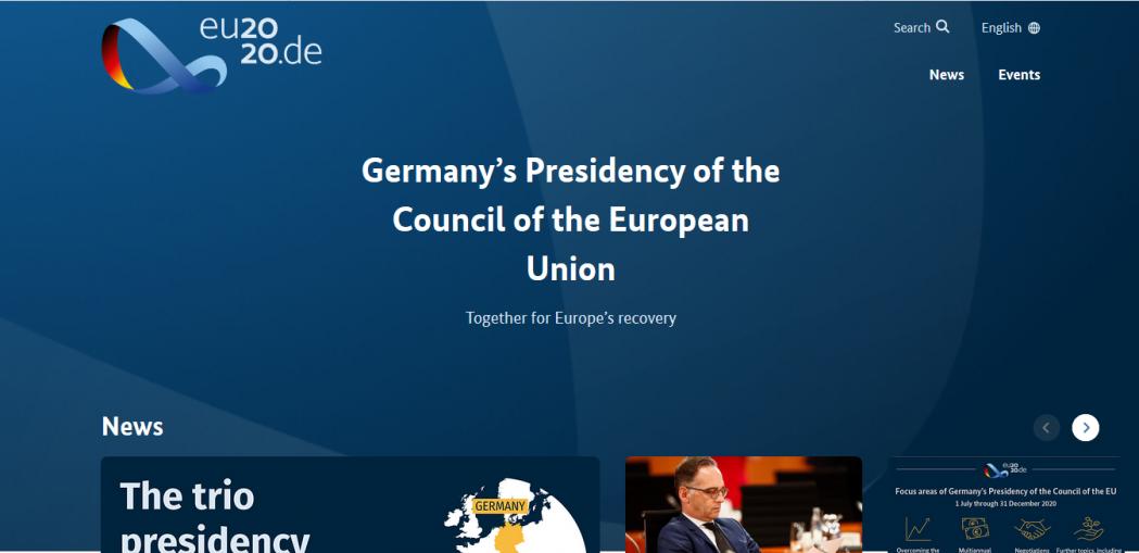 Pacto Verde y COVID-19 inauguran el ciclo de debates organizados en el marco de Presidencia alemana del Consejo