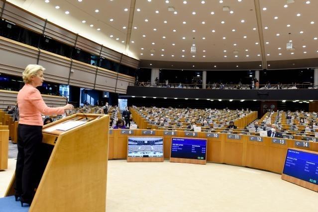 Discurso sobre el estado de la Unión de la presidenta Von der Leyen en la sesión plenaria del Parlamento Europeo