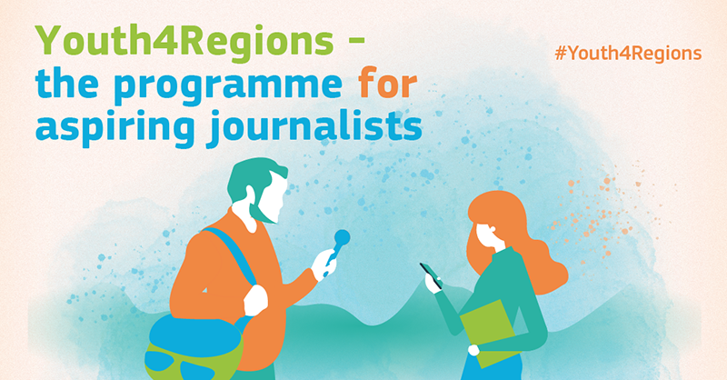 Concurso Youth4Regions para estudiantes de periodismo y jóvenes periodistas