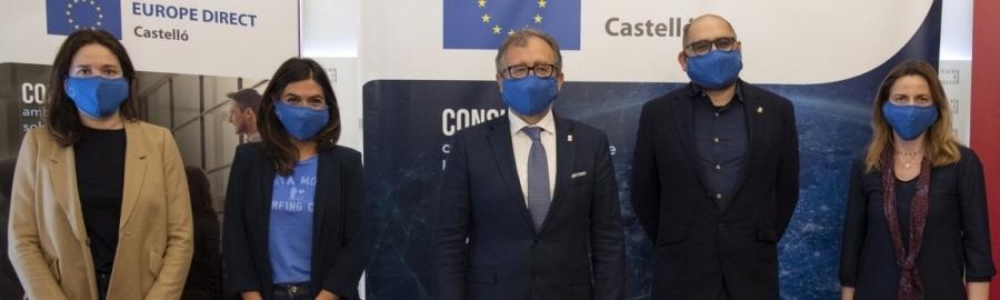 La Diputación renueva su convenio con la Comisión Europea y continuará siendo la antena de Europa en la provincia hasta 2025