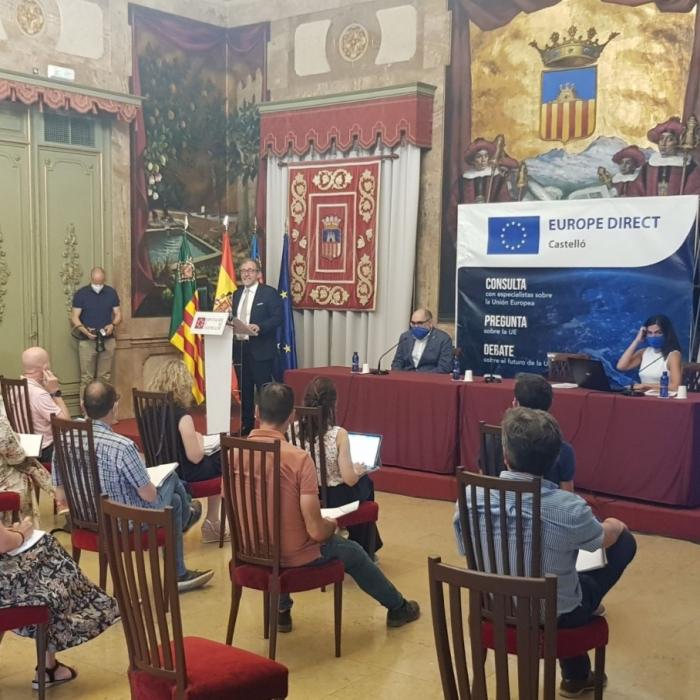 El centre d'informació oficial de la Comissió Europea de la Diputació Provincial de Castelló, ha llançat la campanya 'La UE Educa' dirigida als centres educatius de la província