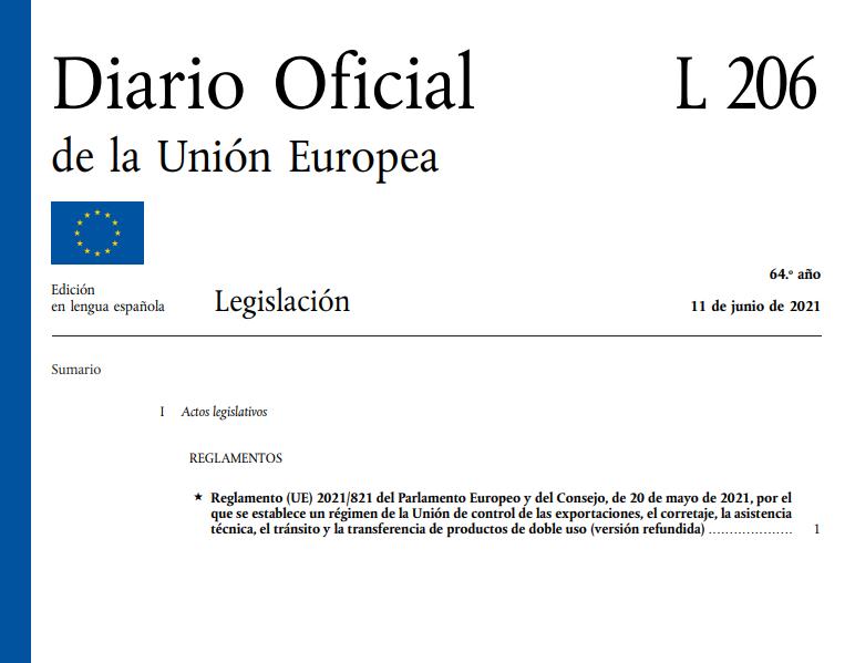 Entran en vigor las normas reforzadas de control de las exportaciones de la Unión