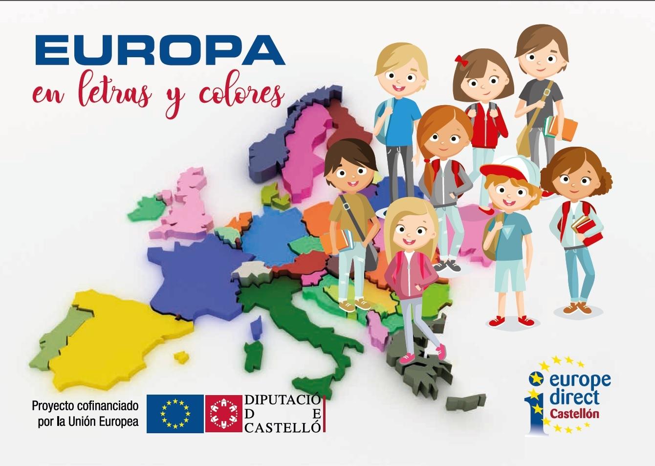 Publicación del Concurso 'Europa en Letras y Colores'