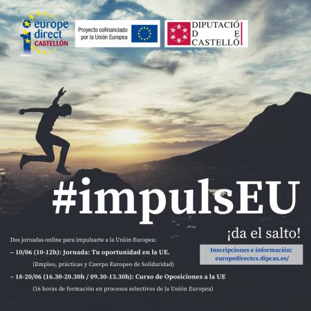 """Formulario de inscripción """"#impulsEU – Curso de Oposiciones a la UE"""""""