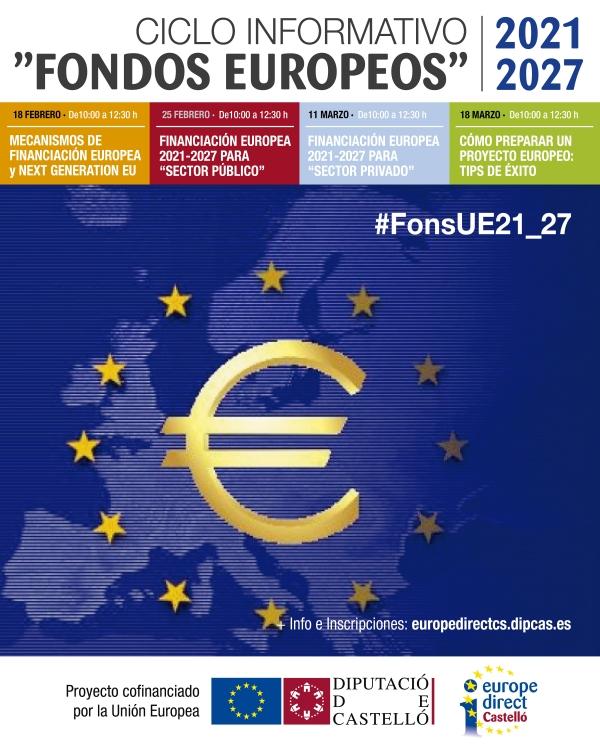 "CICLO INFORMATIVO ""FONDOS EUROPEOS 2021 2027"""