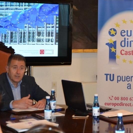 La Diputación lleva a 14 empresas de Castellón a las instituciones europeas