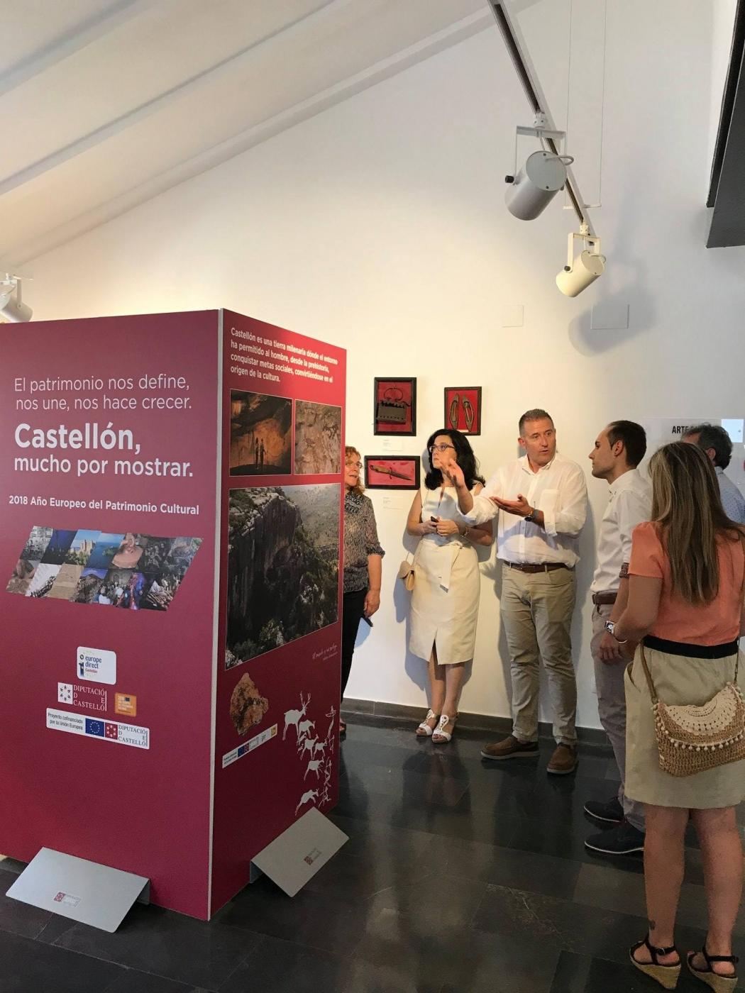 """Jérica recibe la exposición """"Castellón mucho por mostrar"""""""