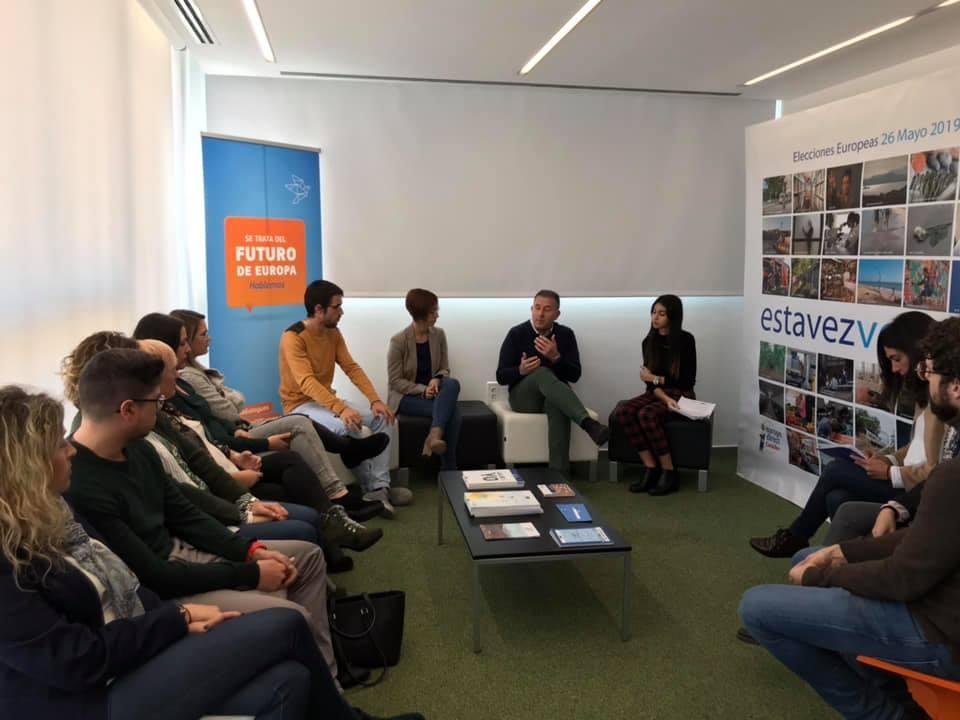 El Centro Europe Direct Castellón presenta #estavezvoto
