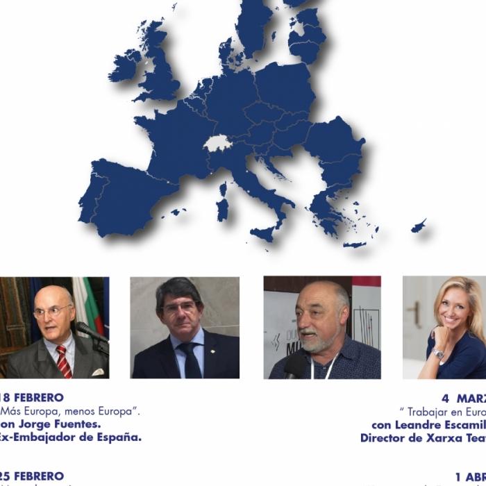 """Europe Direct Castellón arranca sus """"Diálogos por Europa"""""""