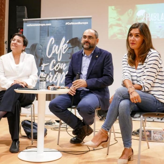 Café con Europa, arranca en Castellón