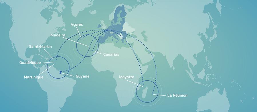 Las regiones ultraperiféricas de la UE: una asociación reforzada da fruto