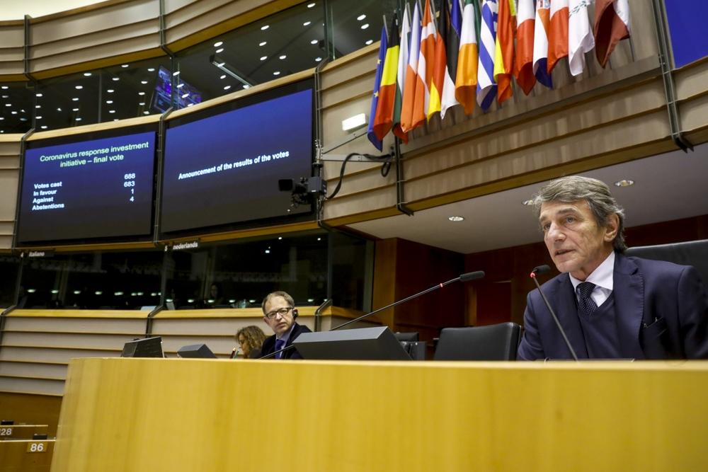 COVID-19: el Parlamento aprueba las primeras medidas de apoyo de la UE