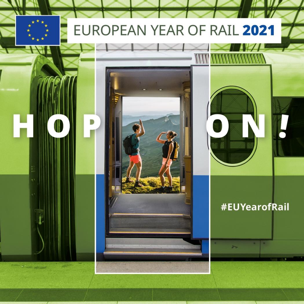 Empieza el viaje. 2021: ¡el Año Europeo del Ferrocarril!