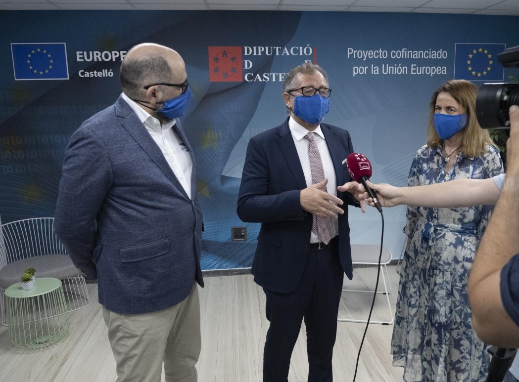 La Comissió Europea renova el conveni amb el centre de la Diputació de Castelló, que seguirà amb la seua activitat fins a 2025