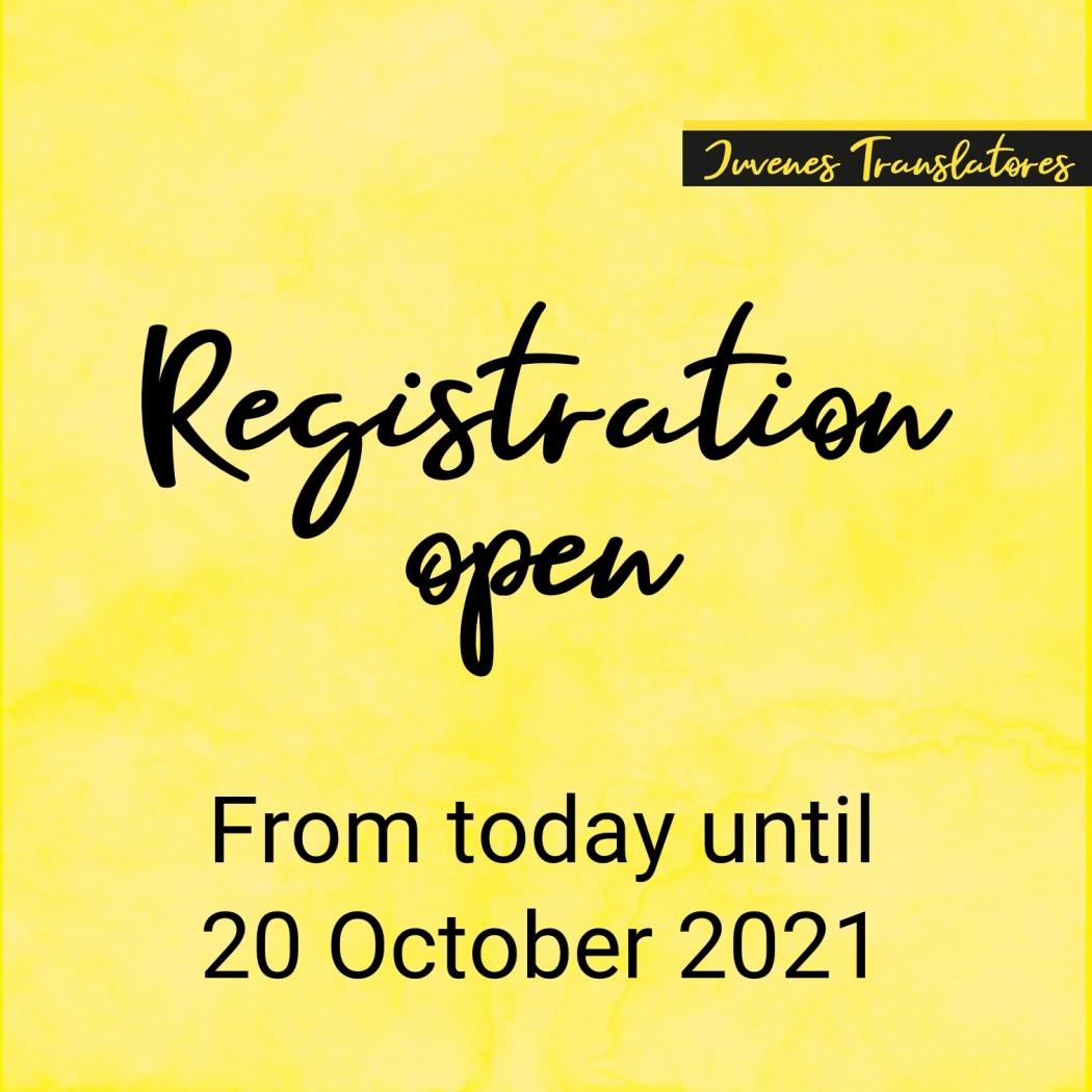 Queda abierto el concurso de jóvenes traductores de la UE (2021)