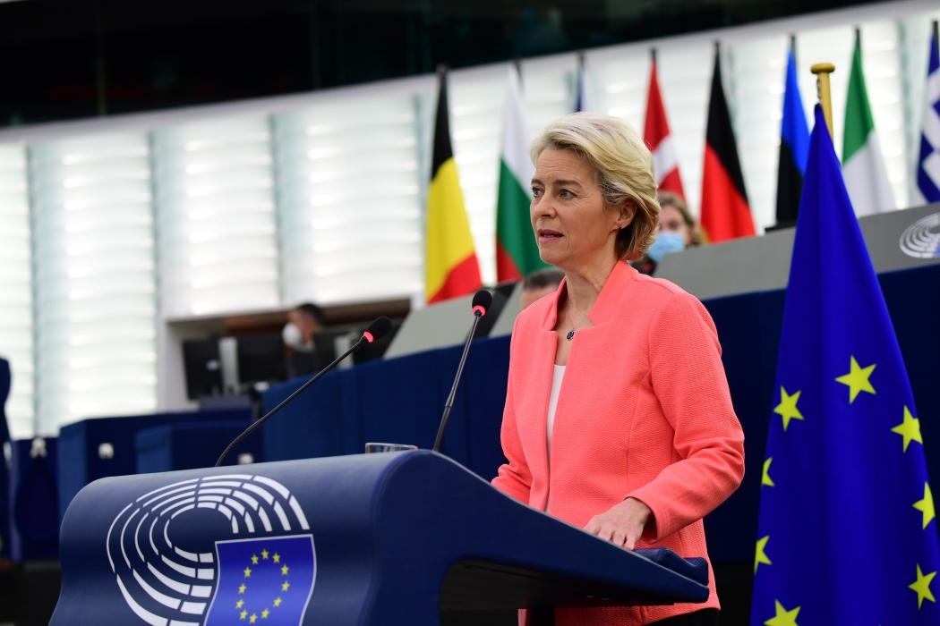 Discurso sobre el estado de la Unión de 2021 pronunciado por la presidenta Von der Leyen