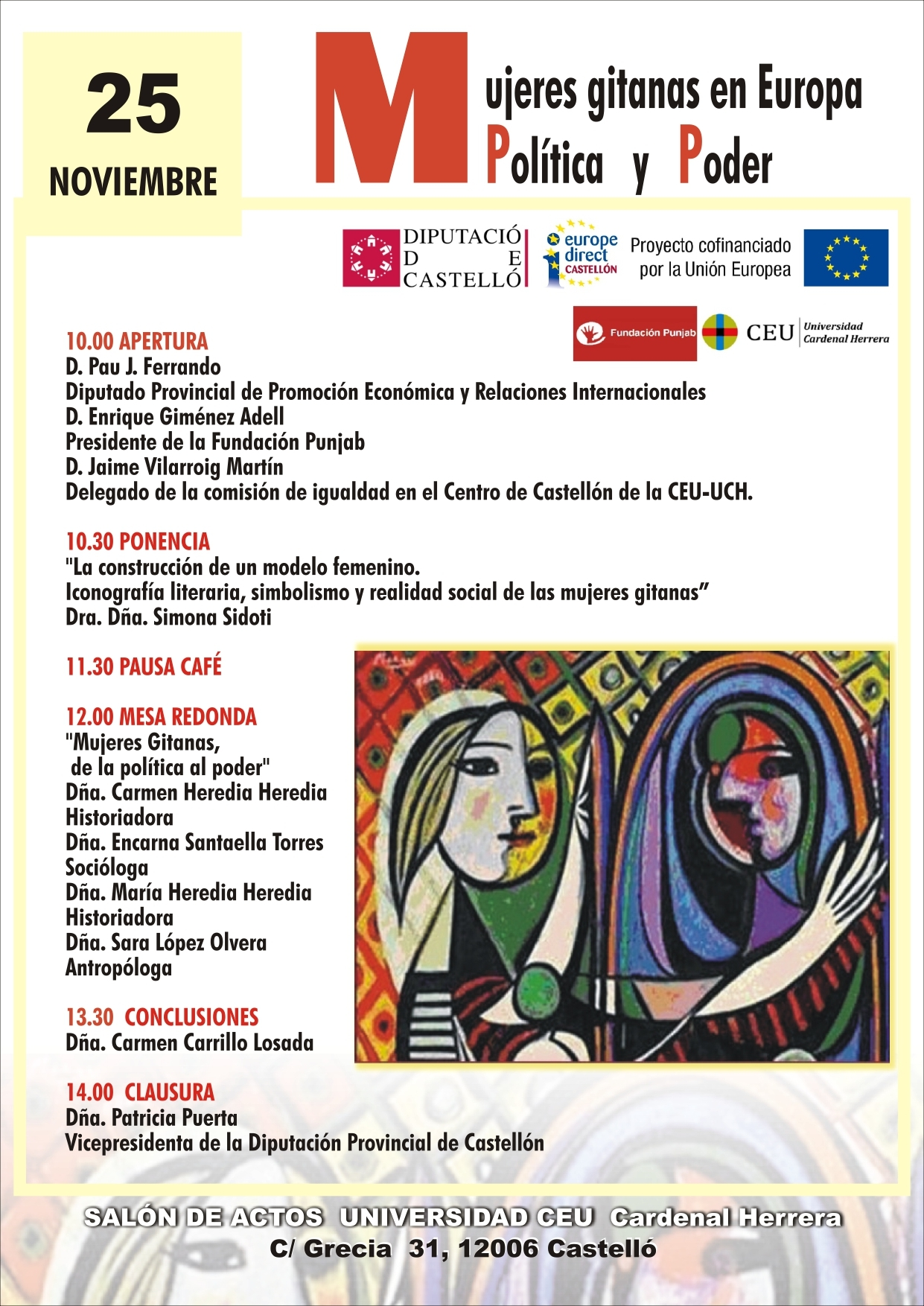 Seminario Europeo. Mujeres Gitanas en Europa: Política y Poder