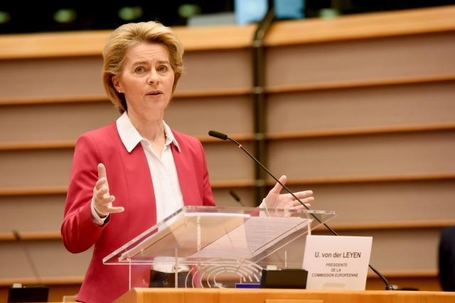 Discurso de la presidenta Ursula von der Leyen en la sesión plenaria del Parlamento Europeo sobre la respuesta coordinada europea al brote de la COVID-19